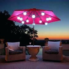 Home Depot Patio Heater by 9 Solar Aluminium Outdoor Tilt Patio Umbrella W 32 Leds Color Opt