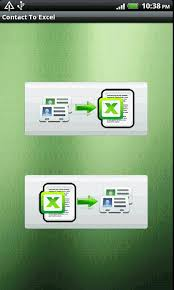 print to excel file contact to excel android apps on google play