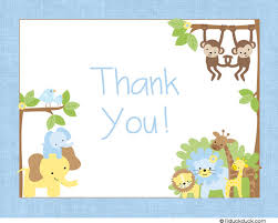 free thank you cards baby boy templates ideas anouk invitations