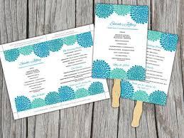 Fan Ceremony Programs 13 Best Wedding Programs Images On Pinterest Marriage Fan