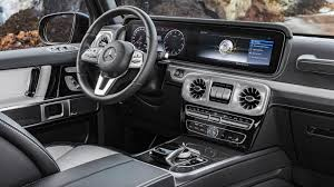 luxury mercedes van 2019 mercedes g class interior revealed more space more luxury