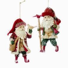 traditional santa ornaments kurt s adler
