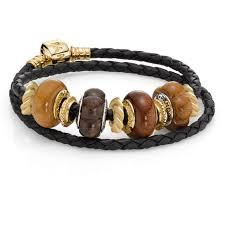braided bracelet with charms images 125 best pandora braided leather bracelets with charms images on jpg