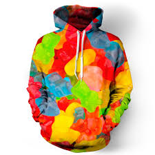 gummy clothes gummy bears hoodie