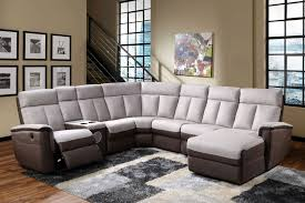 sectional sofa amazing sectional recliner sofa with cup holders