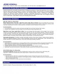 Store Manager Resume Sample by The Brilliant Store Manager Resume Examples Resume Format Web