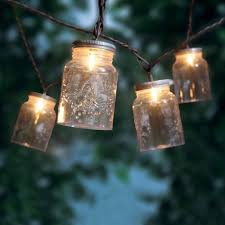 mainstays jar mini string lights 10 count walmart