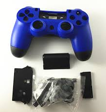 how to change the color of ps4 controller light full housing shell case repair parts protector cover glossy surface