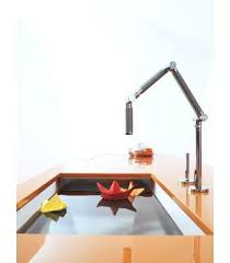 articulated kitchen faucet deck mount kitchen faucets above the brass deck mounted faucet