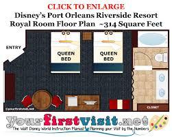 Disney Magic Floor Plan by Review Royal Rooms At Port Orleans Riverside