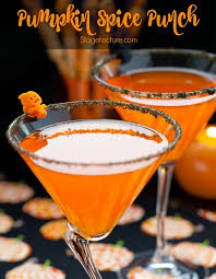 Party Cocktails Punch - halloween drink how to make pumpkin spice punch recipe