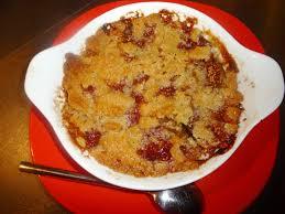 cuisiner des figues fraiches fromage ou dessert dessert crumble aux figues fraîches