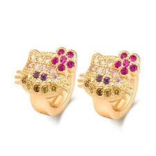 children s hoop earrings lovely earrings gold filled children s hoop huggie earrings