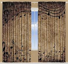 Best Places To Buy Curtains Extraordinary Music Note Curtains 22 About Remodel Best Place To