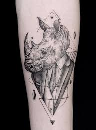 48 best tattoos images on pinterest rhino tattoo drawings and