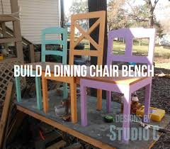 build a dining chair bench u2013 designs by studio c