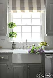 Grey And White Kitchen Curtains by Best 20 Roman Shades Kitchen Ideas On Pinterest U2014no Signup