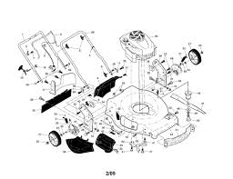 briggs and stratton lawn mower parts diagram automotive parts