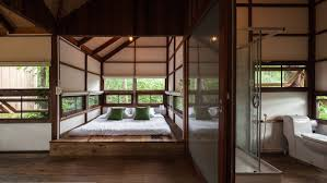 Thailand Home Design Delightful Treehouse Residence Weaves Through A Forest In Thailand