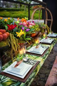 how to tropical table decor tropical wedding decor caribbean