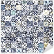moroccan tiles stickers u2022 pixers