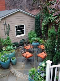 Backyard Landscaping Ideas For Small Yards by Optimize Your Small Outdoor Space Hgtv