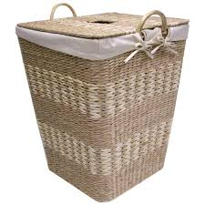 Pretty Laundry Hampers by Arcadia Woven Clothes Hamper