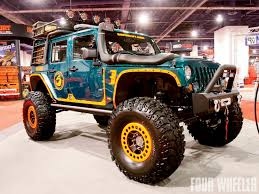 sema jeep yj scorpivs jeep wrangler superlift