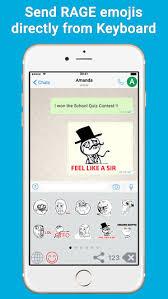 Meme Keyboard Iphone - ragemoji meme keyboard animated gif stickers on the app store