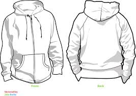 hoodie template v2 by pindlekill on deviantart