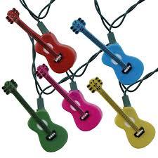 Solar Rv Awning Lights Multi Color Guitars Novelty String Lights