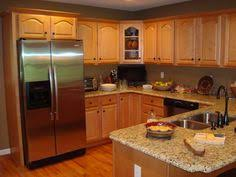 Kitchen Pictures With Oak Cabinets Golden Oak Cabinets Enhanced With Mahogany Gel Stain Gel Stain