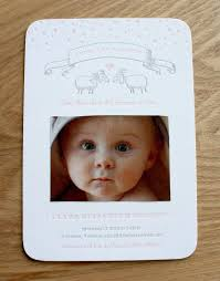 birth announcement card lettered card and