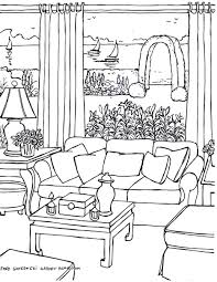 Couch Drawing Basic Living Room Drawing Magielinfo Fiona Andersen