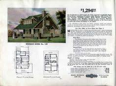 sears home model no 113 1 062 to 1 270 house plans