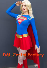 Elektra Halloween Costume Dhl Wholesale Superhero Costume Classical Supergirl