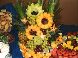 fruit displays vegetable centerpieces eat this centerpiece is a raft