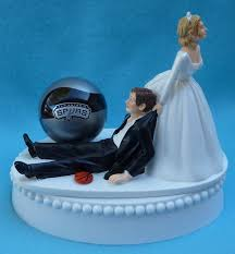 wedding cakes san antonio wedding cake topper san antonio spurs sa basketball themed w