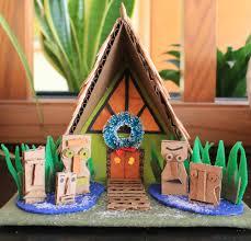 Tiki Home Decor Diy Putz House 8 Kahiki Tiki House Download Our Free Diy