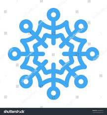 vector illustration snowflake winter design stock vector 485008423