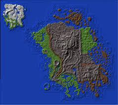 Minecraft Map Editor Elder Scrolls Morrowind Resource Map With Terrain Minecraft