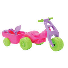 avigo atv ride on with trailer pink toys r us australia join