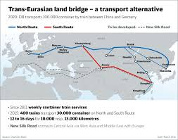 Wuhan China Map by China Develops Asia Europe Rail Corridor Tripling Freight Service