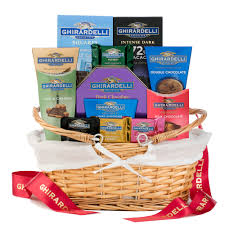 ghirardelli gift baskets grand ghirardelli gift basket wine