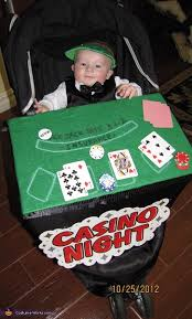 Casino Halloween Costumes Black Jack Dealer Baby Halloween Costume