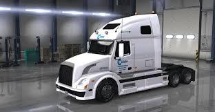 new volvo vnl dc celadon volvo vnl 670 skin mod american truck simulator mod