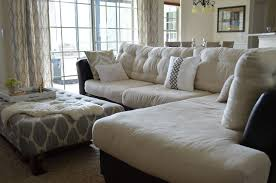 Button Tufted Sofa by Inside Out Design How To Do Buttonless Tufting On Couch Cushions