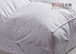 down soft massage mattress topper king size for hotel home