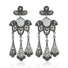 one side feather earring list manufacturers of potara earrings buy potara earrings get