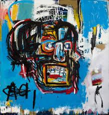 untitled jean michel basquiat acrylic u0026 oil stick u0026 spray paint